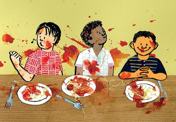 Spaghetti Fight web