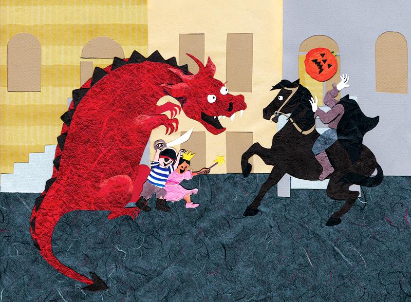 Horseman Dragon